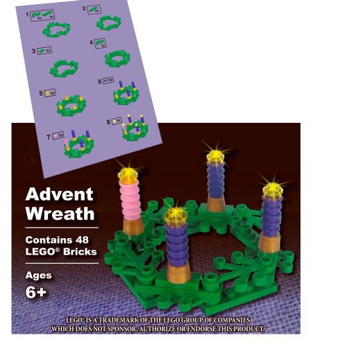 Leg Advent Wreath Set Box