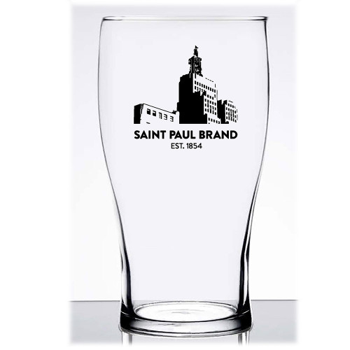 St. Paul Minnesota Landmark Pub Glass 6/Asst