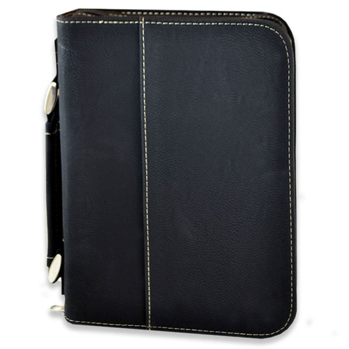 Small Leather Bible Cover with Optional Personalization