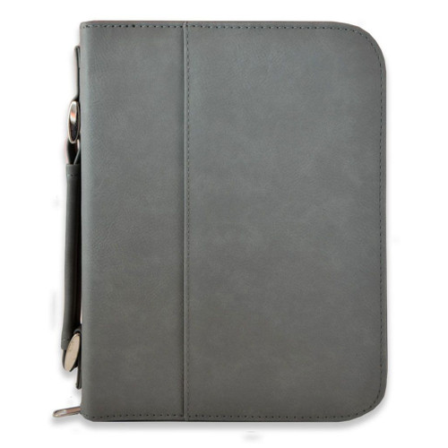 Leather Bible Cover with Optional Personalization