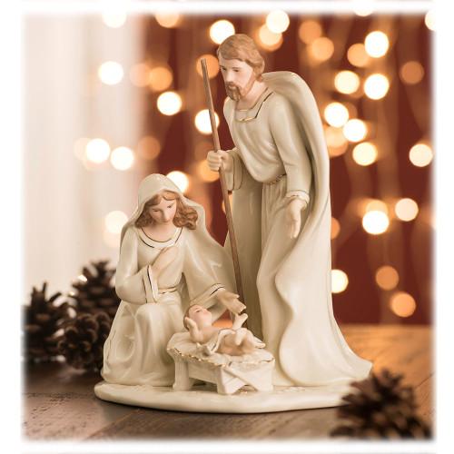 Belleek Nativity Holy Family