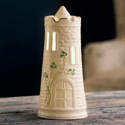 LED Belleek Castle Light