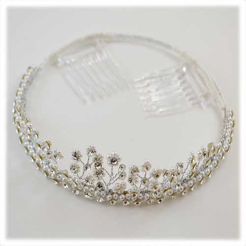 First Communion Tiara No Veil