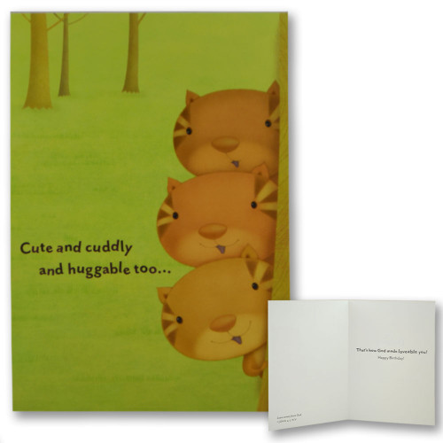 Happy Critters Boxed Birthday Cards