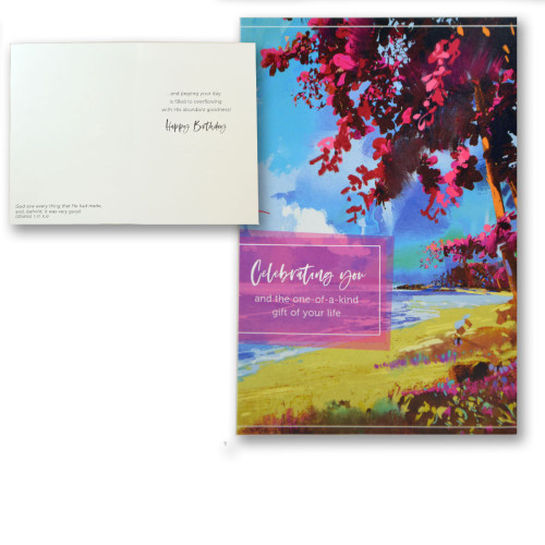 Colorful Landscapes Boxed Birthday Cards