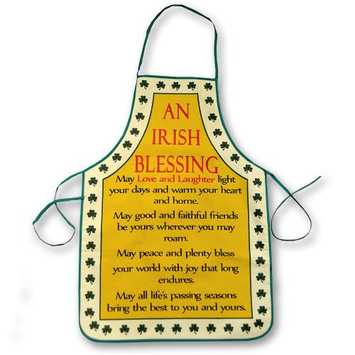 Irish Blessing Apron Design