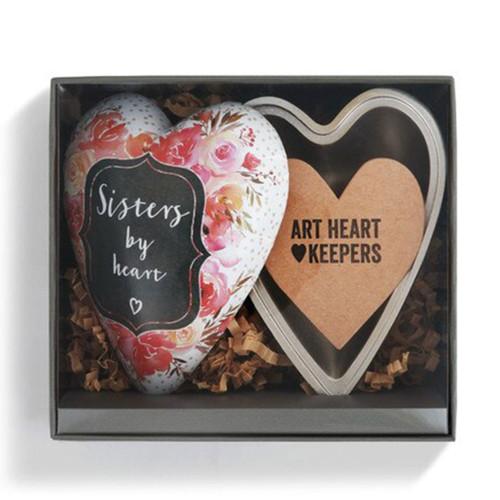 Sister Art Heart Trinket Box