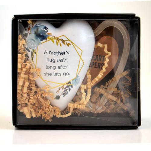 Mom Art Heart Trinket Box