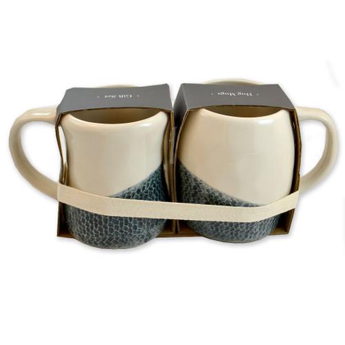 Grandma Grandpa Mugs Set of 2