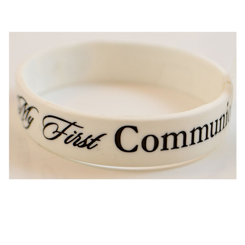 Silicon First Communion Bracelet