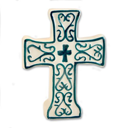 Tabletop Ceramic Crosses - 3 styles sold separately
