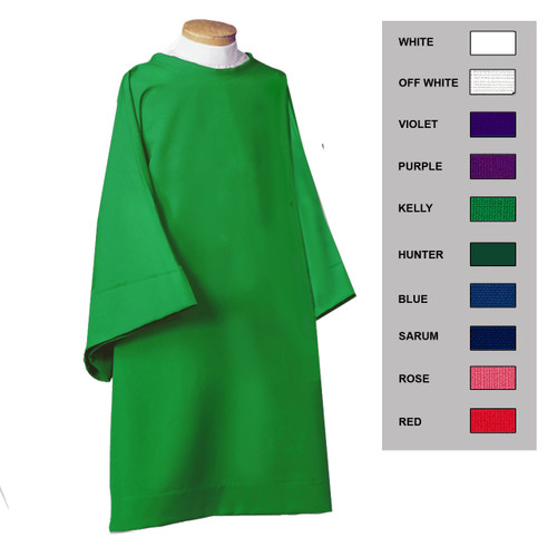 Plain dalmatic color options