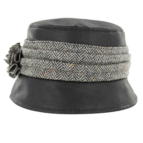 Waxed Cotton Kate Irish Hat