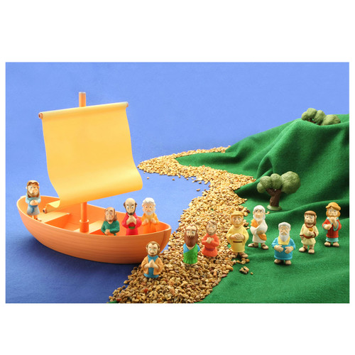 Apostles in the Boat Play Set