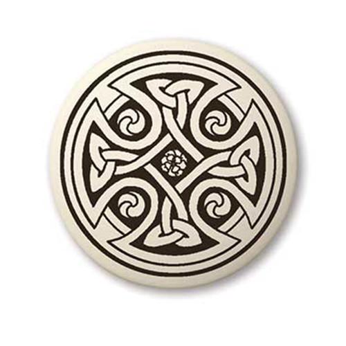 Round Celtic Cross  Pendant