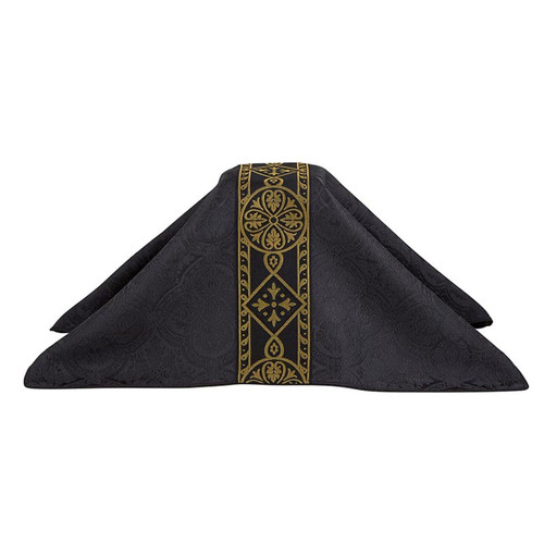 F2304  Avignon Chalice Veil Collection -Black