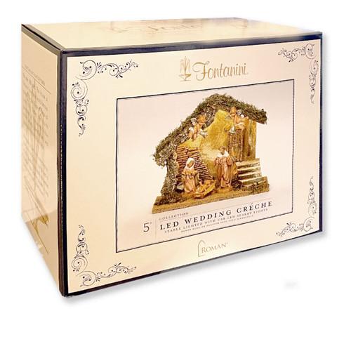 Fontanini Wedding Nativity Set with 5 figures Box