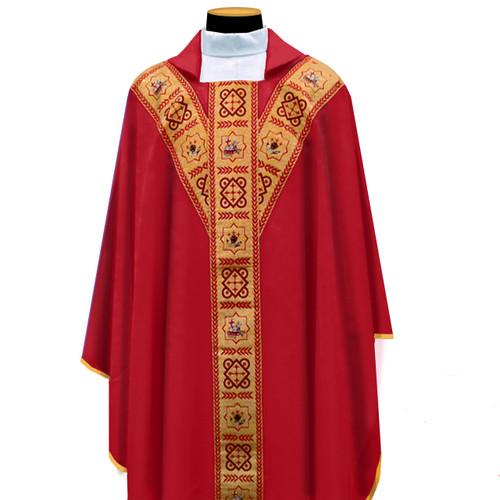 486  Chasuble in Primavera Fabric