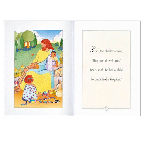 Inside Pages of His First Bible Little Stories for Little Hearts by Melody Carlson