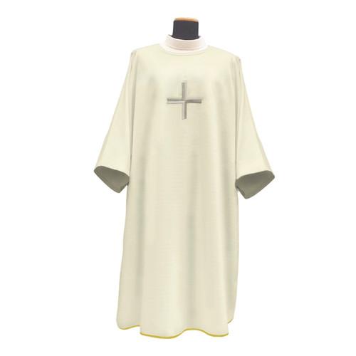 620 Light Weight 620 Dalmatic in Monastico White