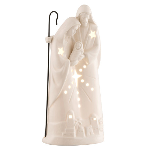 Belleek Nativity Votive