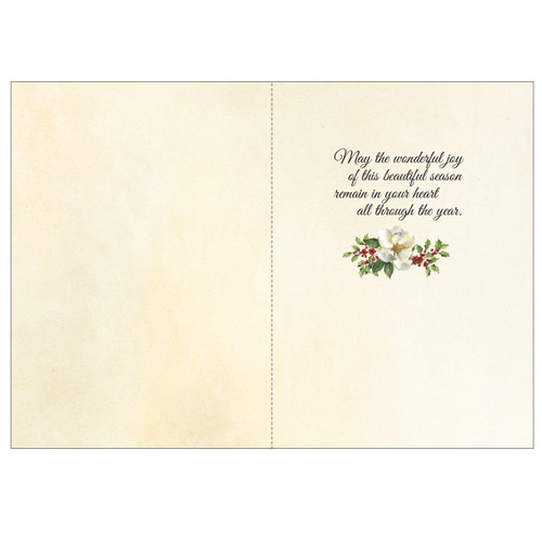 Inside the Magnolia Christmas Boxed Cards