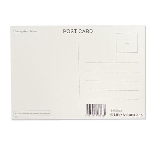 Back of Irish Postcards