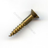 Wood Screw Csk Brass 12G x 1 1/2