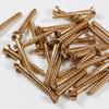 Silicon Bronze Wood Screw Raised Slot