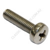 Pan Phillips Stainless (316): M3 x 8mm