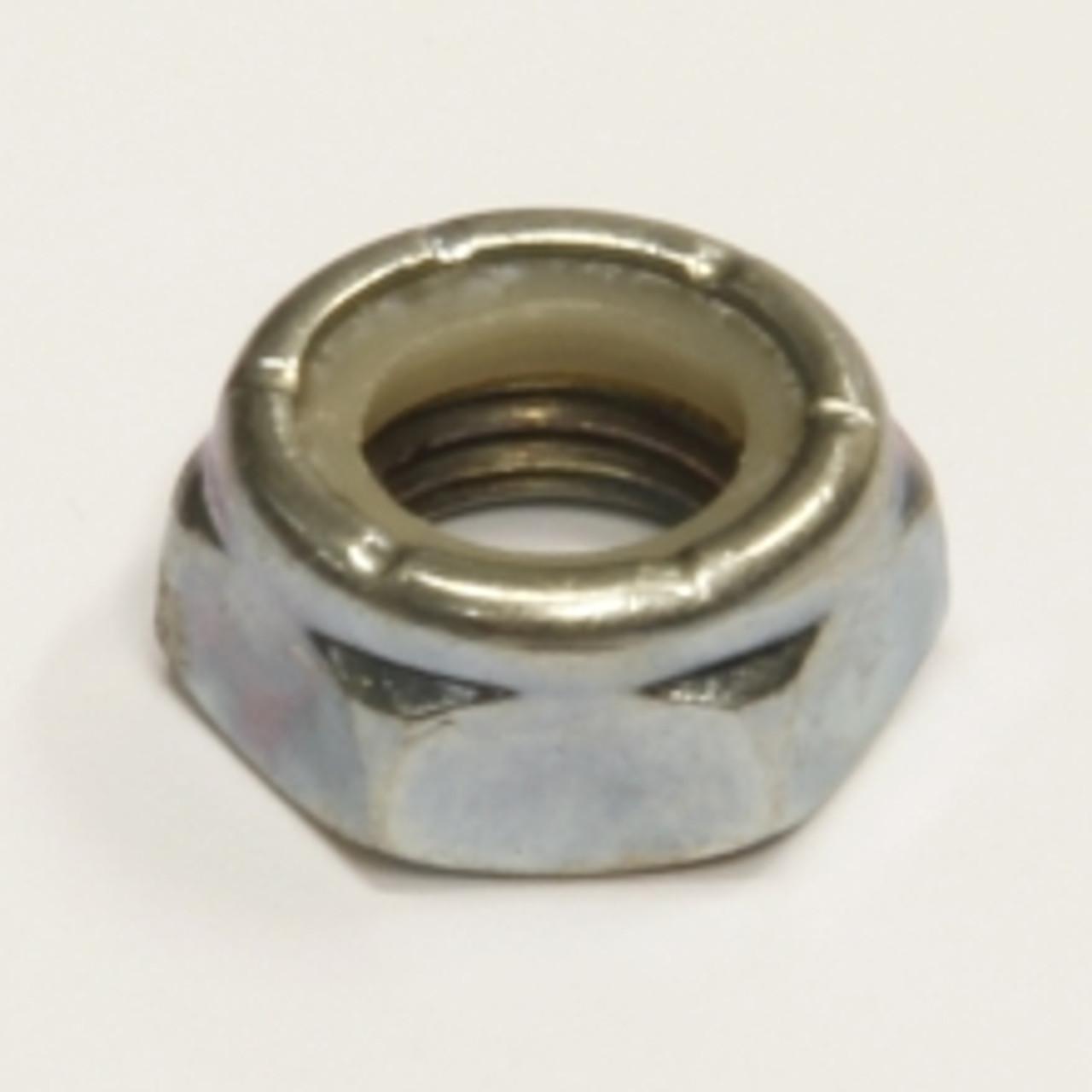 18 tpi 5//8 UNF Nyloc Nut Zinc