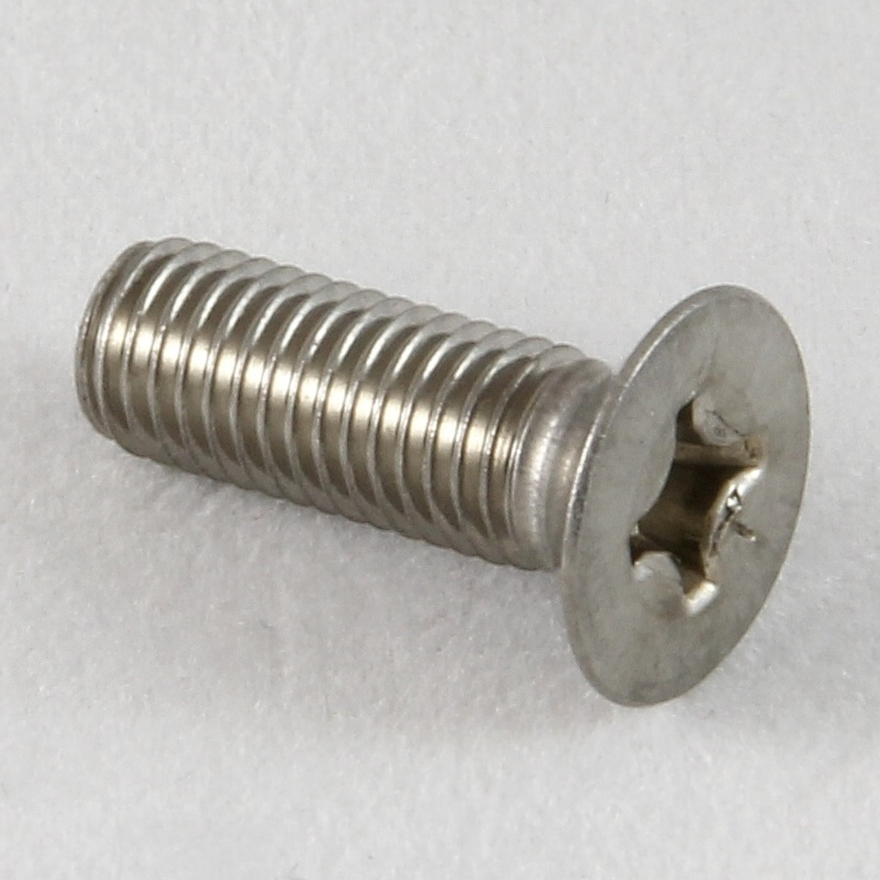 1//4UNF X 3//4 SLOT COUNTERSUNK MACHINE SCREWS STEEL ZINC PLATED QTY 10
