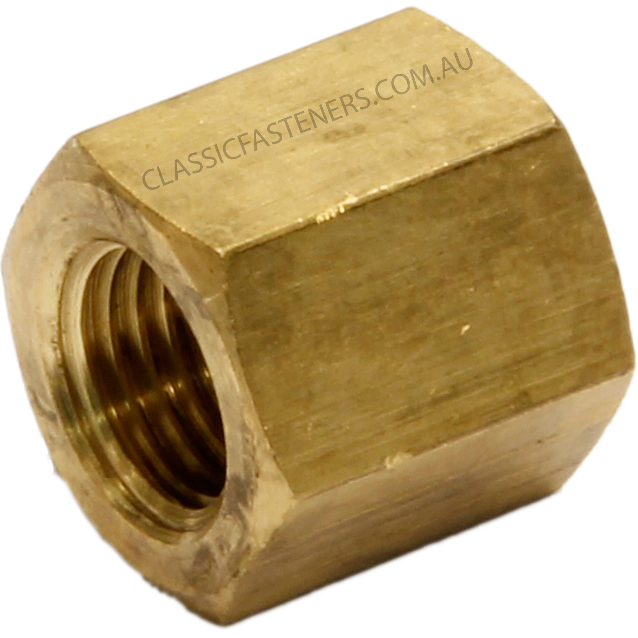 """MANIFOLD NUTS-BRASS IMPERIAL 3//8/"""" UNF PACK OF 25"""