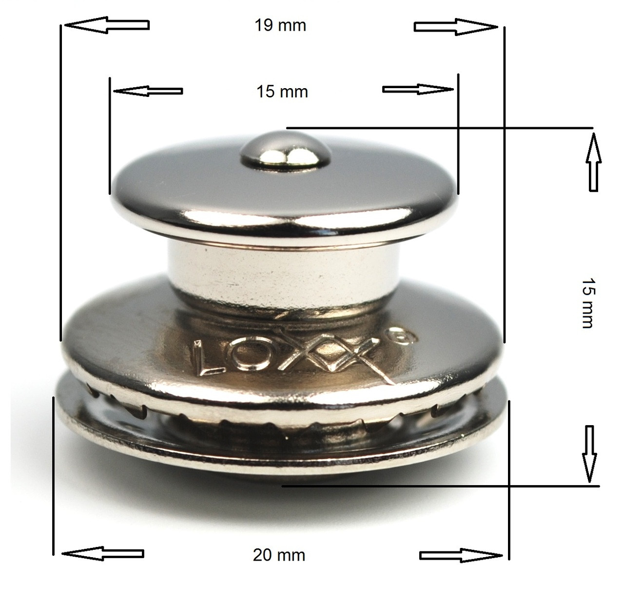 LOXX Upper Part dimensions