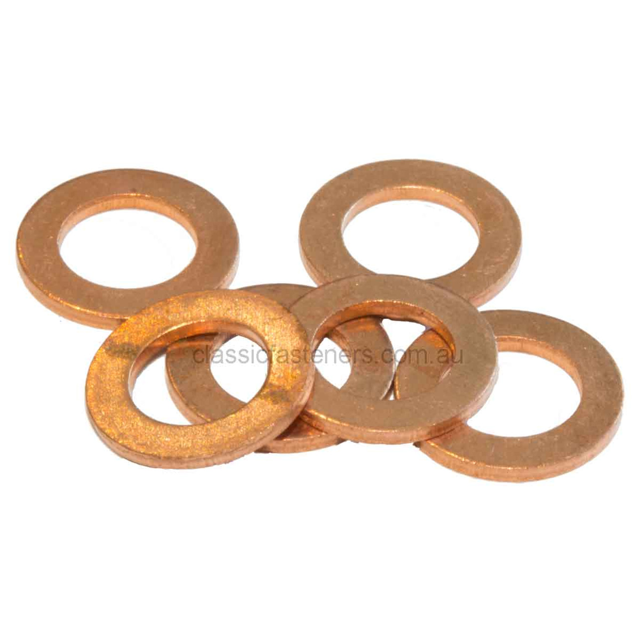 "1/4"" Copper Flat Washer"