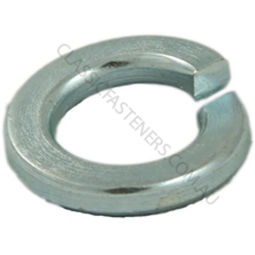 "Spring Washer Zinc: 3/8"". Qty 200"