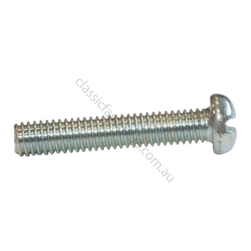 """2BA 1/"""" Slotted round head machine bolt screws with nuts Pack of 25!"""