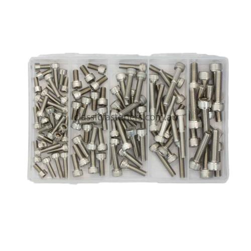Metric Socket Screw Pack - Stainless Steel Grade 316