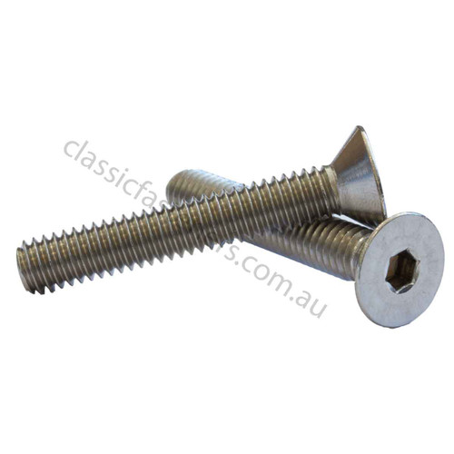 Countersunk Socket Screw 5/16-18 UNC x 2 Stainless