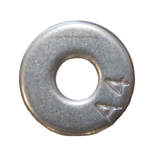M5 x 15mm Flat Round washer Stainless 316