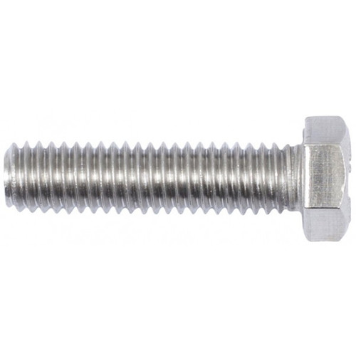Set Screw Stainless (316) : 1/4 UNC x 1