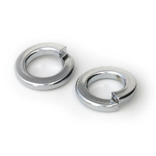 Spring Washer Chrome 1/4""