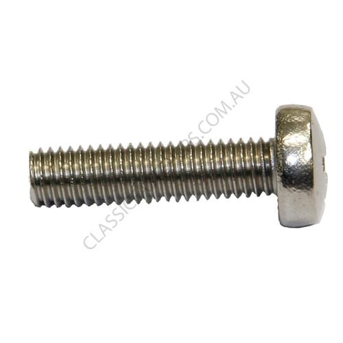 Pan Head Machine Screw Stainless Metric