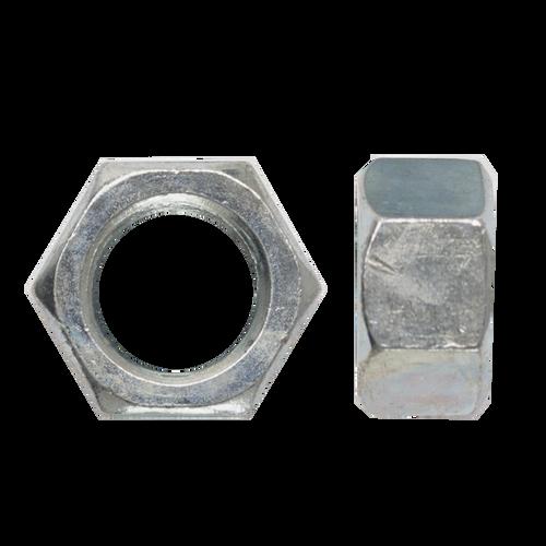 Qty 2 Hex Standard Nut 5//16 UNF Imperial Black Steel Grade 8