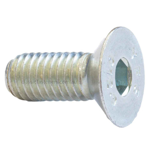 Countersunk Socket Screw Alloy Steel Zinc M8 x 20mm
