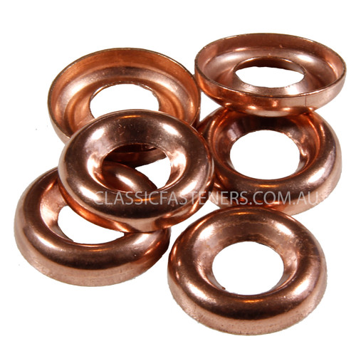 Cup Washer Silicon Bronze : 10 Gauge