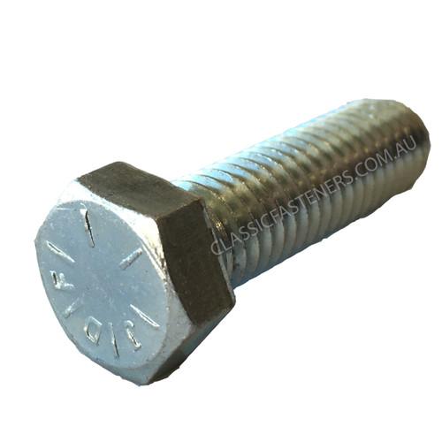 Set Screw UNC Grade 8 Zinc