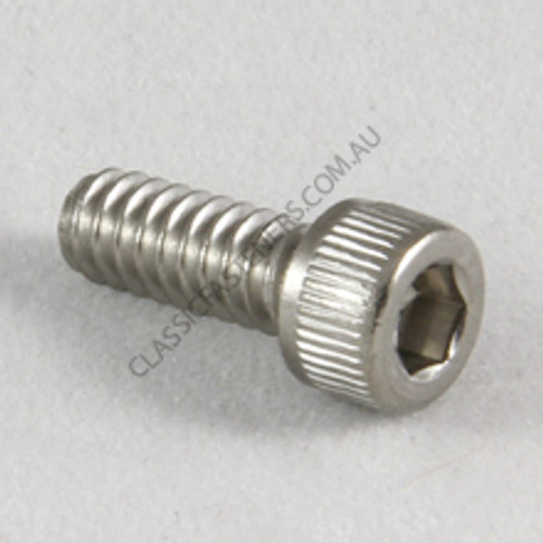 Socket Cap Stainless 6-32 UNC x 3/4