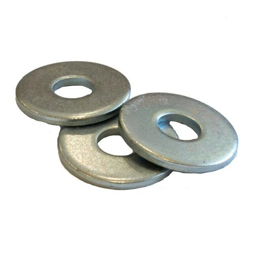 Flat round washer heavy duty zinc