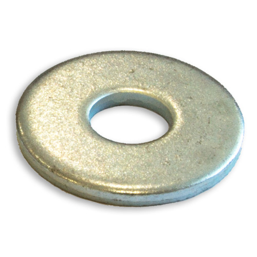 Flat round washer heavy duty zinc